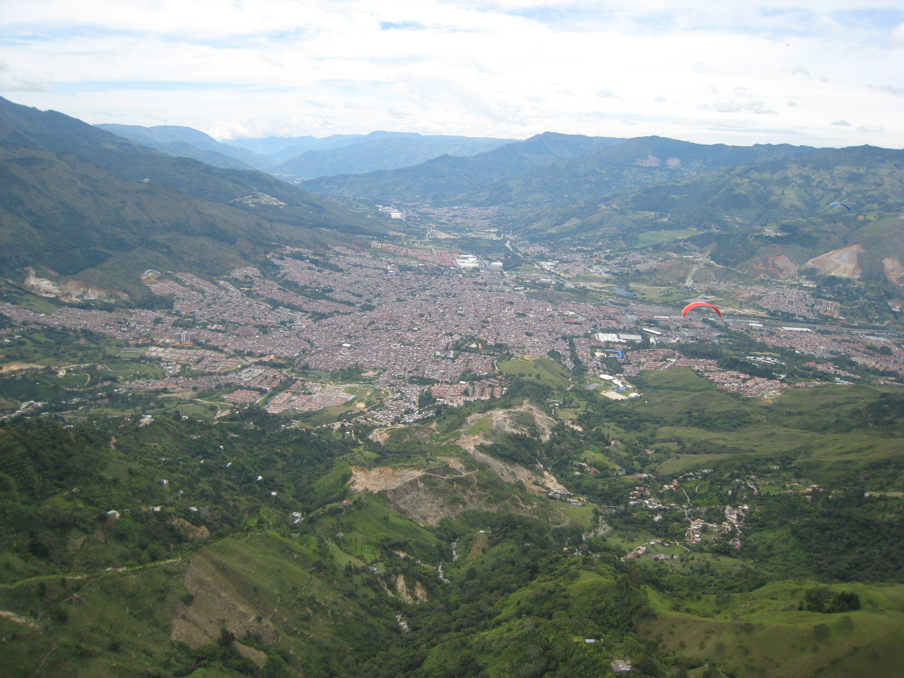 Parapente (Paragliding) in San Felix, Colombia | Mike Down South
